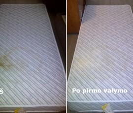 Čiužinių plovimas Vilnius